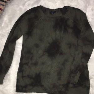 Tie dye american Eagle sweater